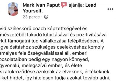 coach, velemeny